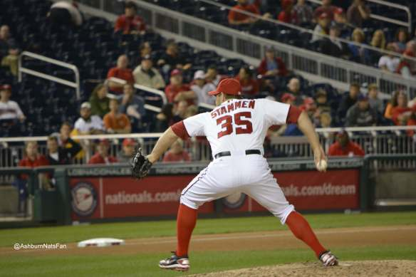 Craig Stammen has been a stabilizing force in the Nationals Bullpen. -Photo Credit @AshburnNatsFan