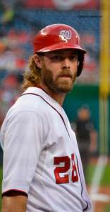 The dreaminess that is Jayson Werth. photo credit, @AshburnNatsFan