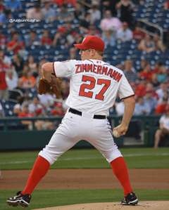 Jordan Zimmermann unleashes the fury. -Photo Credit @AshburnNatsFan