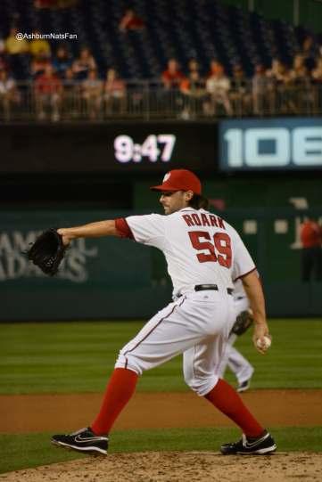 @aNatsFan gets Roark on the mound.